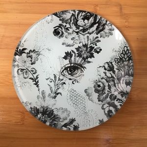URBAN OUTFITTERS ROMANTIC TOILE FLORAL PLATE